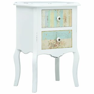 Farias 2 Drawer Bedside Table By Lily Manor