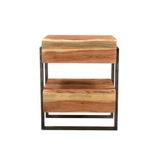 Manzo 2 Drawer Nightstand