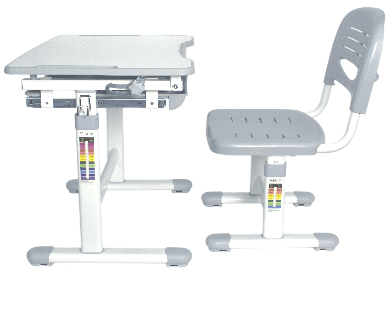 VIvo Vivo Height Adjustable Childrenu0027s Desk With Chair U0026 Reviews | Wayfair