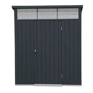 Falcon 8 Ft. W X 6 Ft. D Pent Metal Shed By WFX Utility