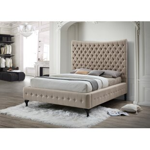 Great Price Hillview Classic Queen Upholstered Platform Bed by Rosdorf Park Reviews (2019) & Buyer's Guide