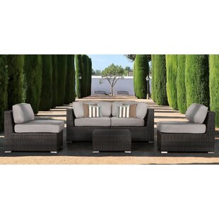 Bayou Breeze Archway 5 Piece Sectional Setwith Cushions