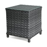 Sawyerville Glass Side Table