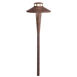 Tiki 1-Light LED Pathway Light By Kichler