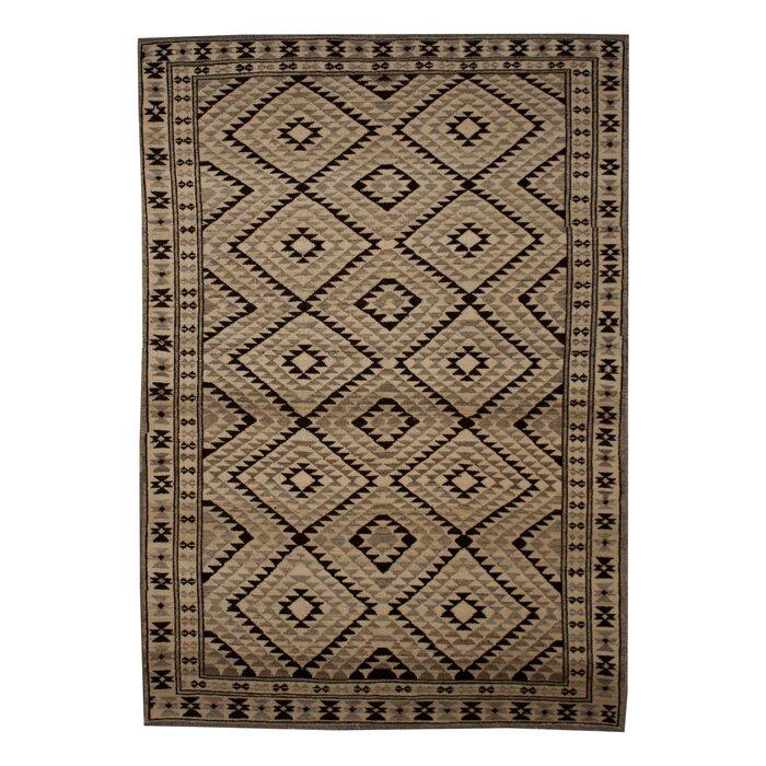 Daley Handmade Kilim Wool Taupe Rug