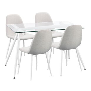 Beau Woodhouse 5 Piece Dining Set