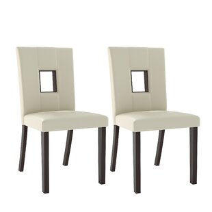 Burgess Parsons Dining Chair (Set Of 2) by Red Barrel Studio Amazing