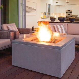 Brown Jordan Fires Quad Concrete Gas Fire..