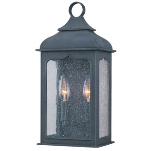 Reviews Theodore 2-Light Outdoor Flush Mount By Darby Home Co