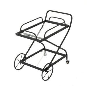 Mattern Indoor Bar Cart by Red Barrel Stu..