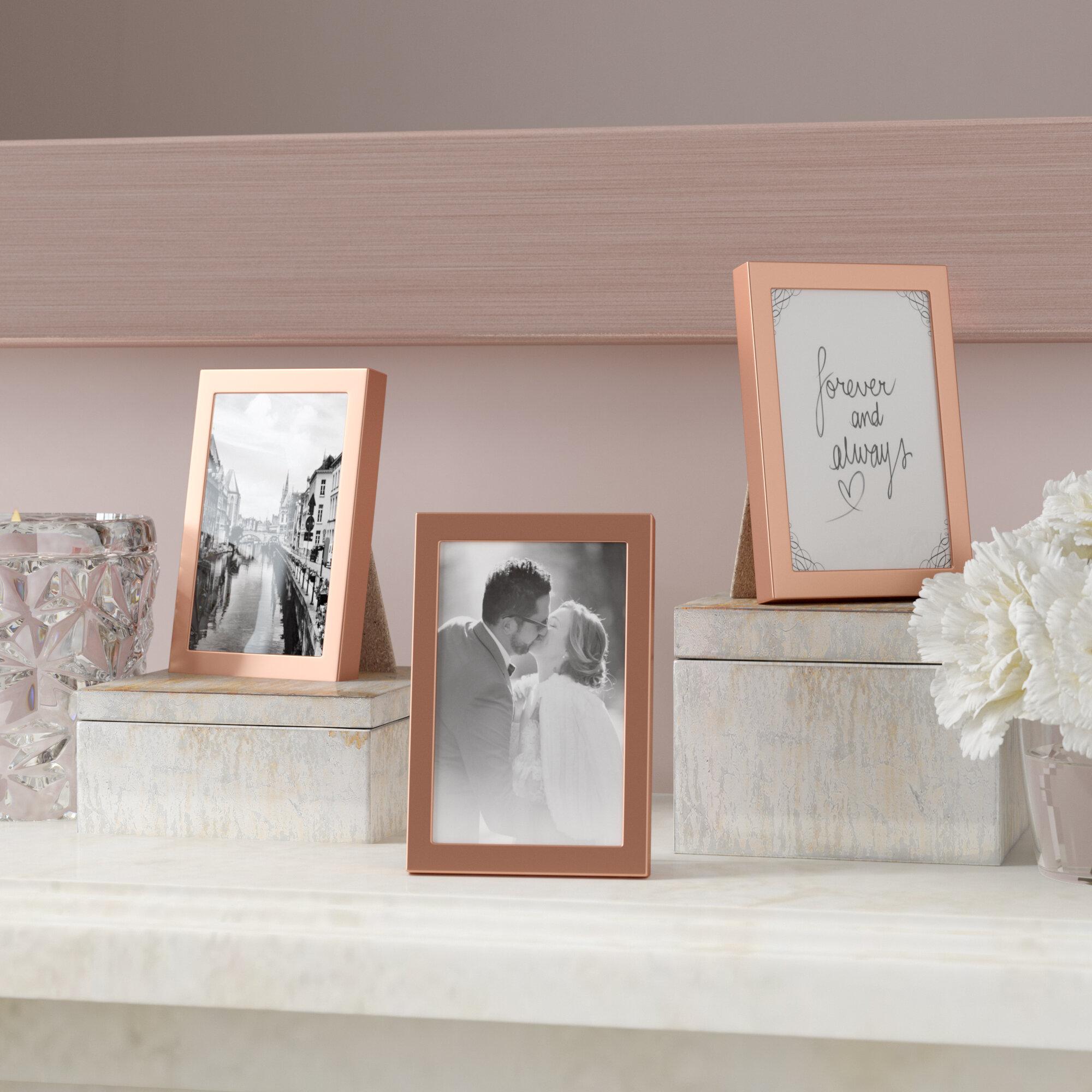 House Of Hampton Ickes Mini Easel Back Picture Frame Set Wayfair