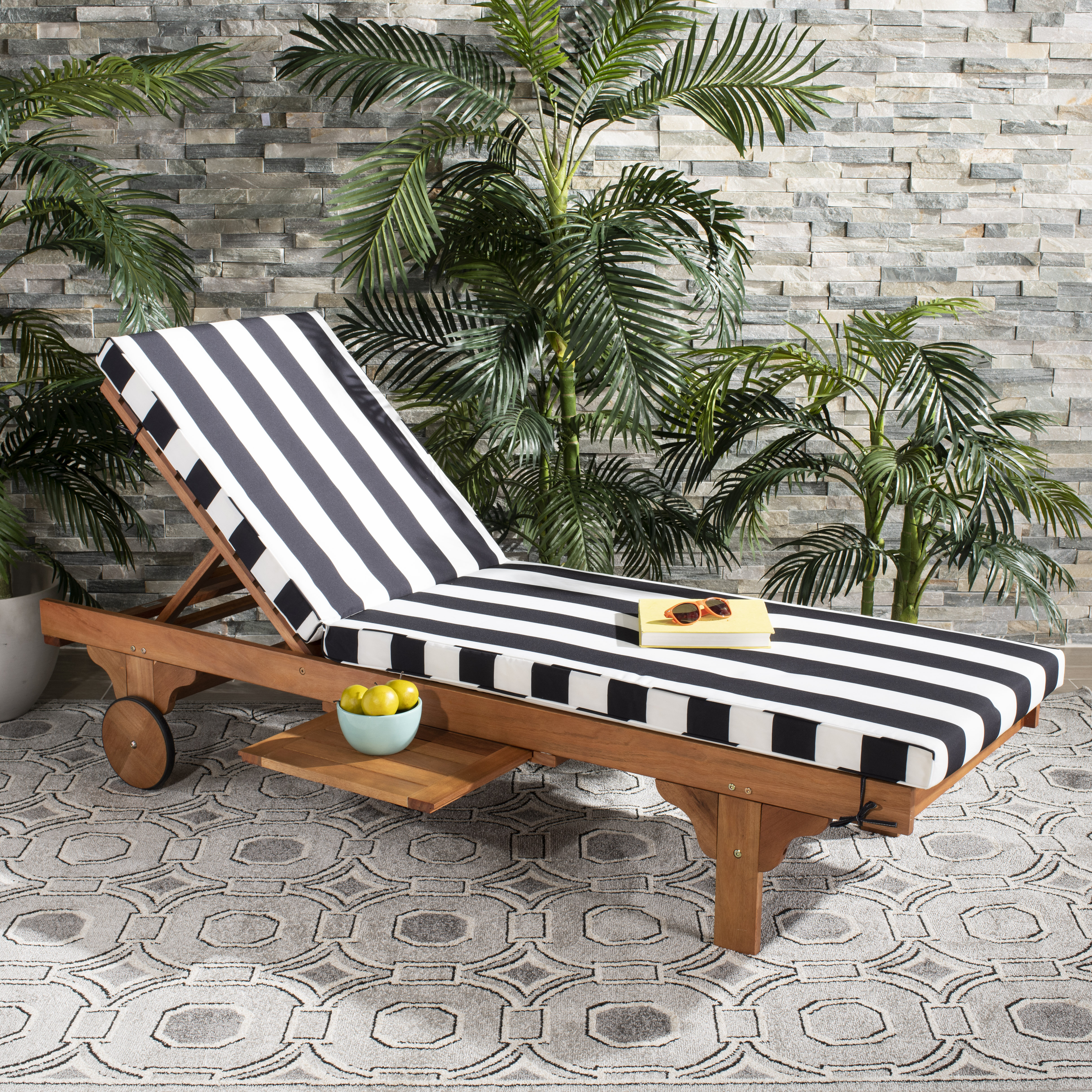 Alvah Reclining Chaise Lounge With