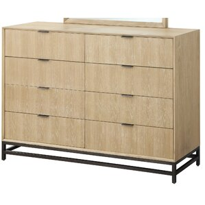 Powers 8 Drawer Double Dresser by Union Rustic