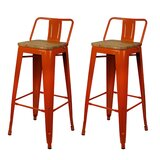 Hause 30 Bar Stool (Set of 2) by Williston Forge
