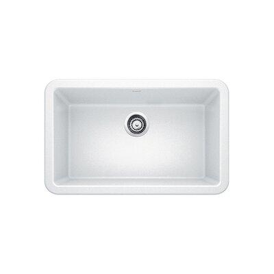 Blanco Ikon 29.32 L x 18.25 W Farmhouse Kitchen Sink Color: White
