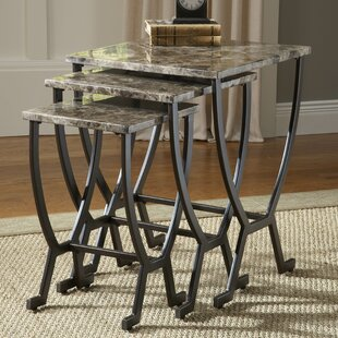 Waltonville 3 Piece Nesting Tables by Red Barrel Studio