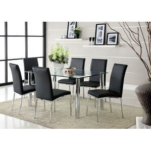 Luro 7 Piece Dining Set by Brayden Studio
