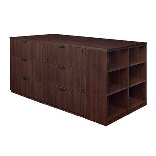 Latitude Run Linh Stand Up 2 Desk Quad 6-..