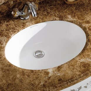 Swiss Madison Plaisir® Ceramic Oval Unde..