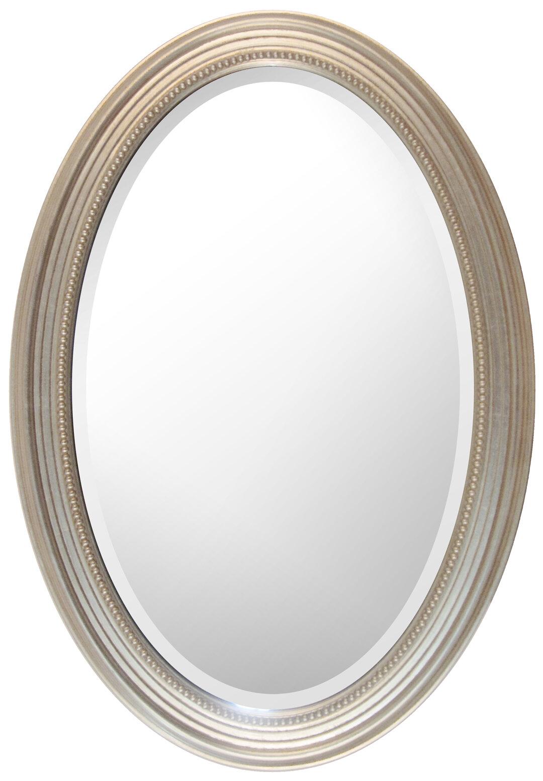 Charlton Home Aryana Oval Framed Wall Mirror   Wayfair