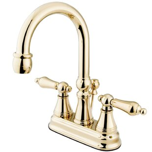 Price comparison Centerset Bathroom Faucet with Drain Assembly ByKingston Brass