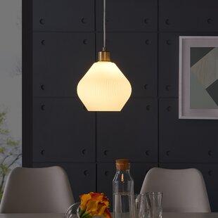 Compare & Buy Hampshire 1-Light Dome Pendant ByBrayden Studio