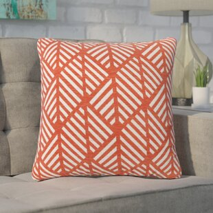 Jase Geometric Design Square Throw Pillow