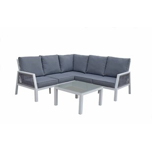 Tejas 5 Seater Corner Sofa Set By Sol 72 Outdoor