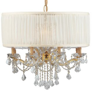 Rosdorf Park Corrinne Modern 12-Light Chandelier