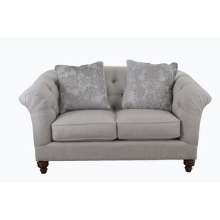 Taj Mahal Chesterfield Loveseat by Craftmaster