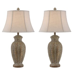 Reyes Wicker 33 Table Lamp (Set of 2)