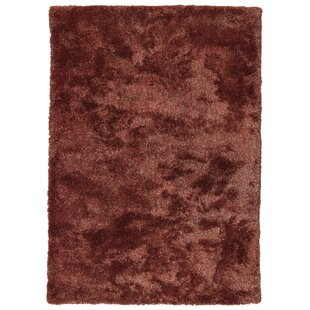 Bieber Cinnamon Area Rug by Ebern Designs