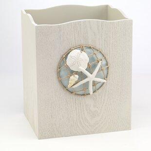 Avanti Linens Seaglass Waste Baskets