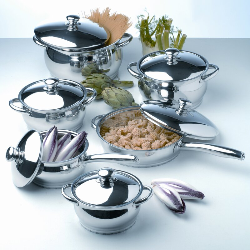 Berghoff International Cosmo 12 Piece Stainless Steel Cookware Set