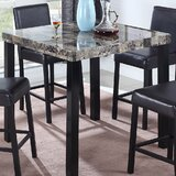 Pinkfringe Counter Height Dining Table by Winston Porter