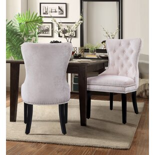 Loganne Upholstered Dining Chair (Set of 2) Rosdorf Park