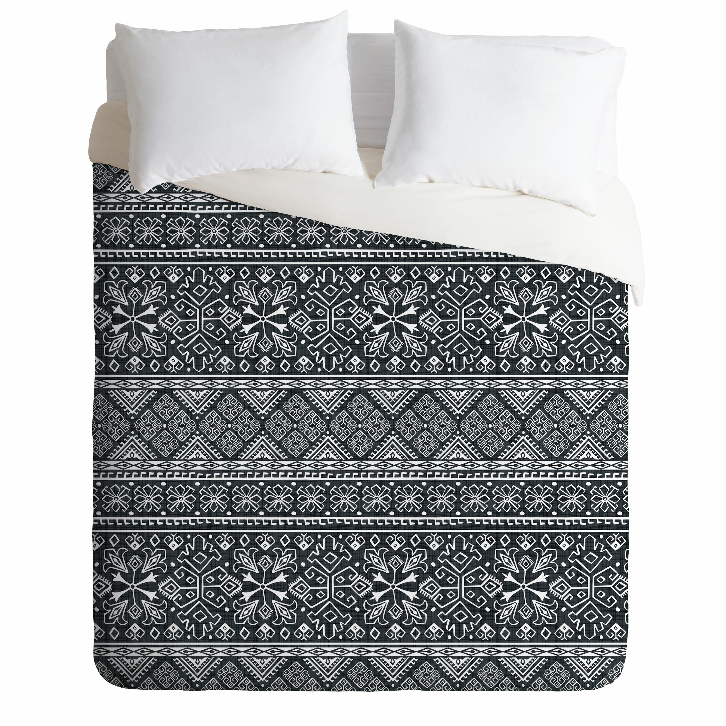 East Urban Home Heather Dutton Grand Bazaar Slate Single Duvet Cover Wayfair