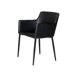 Litva Arm Chair In Black