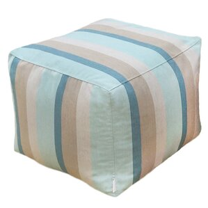 Adamstown Square Outdoor/Indoor Pouf Ottoman by Beachcrest Home