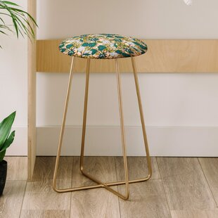 Marta Barragan Camarasa Tropical Bloom 25 Bar Stool