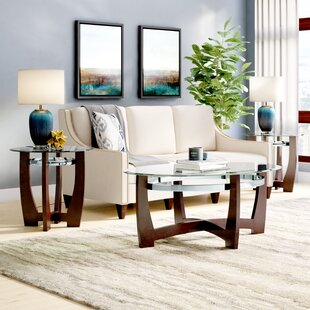 Latitude Run Catalina 3 Piece Coffee Table Set