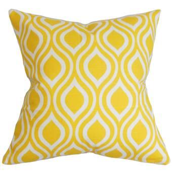 The Pillow Collection Heath Geometric Bedding Sham Wayfair