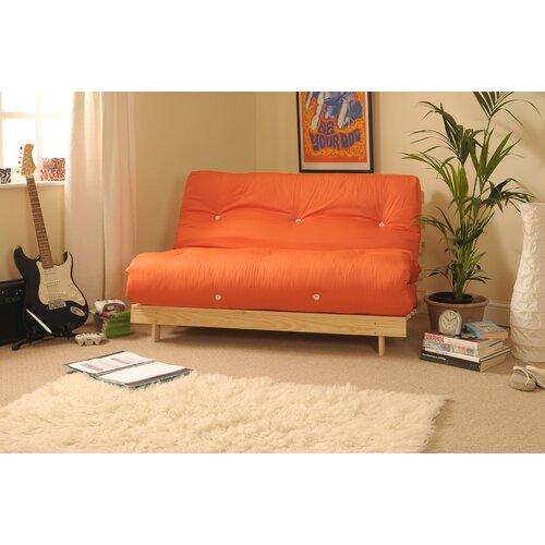 1-Sitzer Futonsessel Danford | Schlafzimmer > Schlafsofas | Orange | 17 Stories