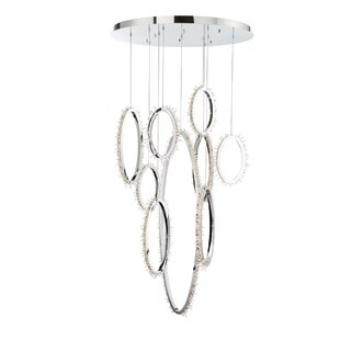 Sturm 9-Light LED Pendant ..