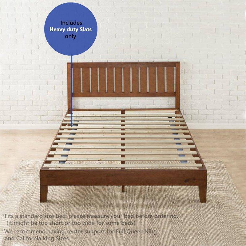 Diy Bathroom Shelf Ideas, Alwyn Home Audra Folding Wood Bed Slats Reviews Wayfair Ca