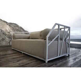 Brayden Studio Snydertown Deep Seating Daybed with Cushions