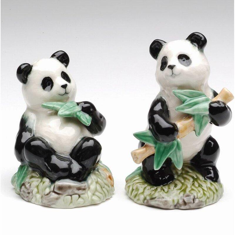 Cosmosgifts Cosmos Gifts Panda Salt And Pepper Shaker Set Wayfair