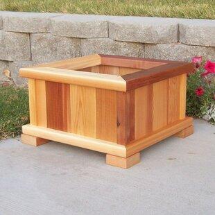 Wood Country Cedar Planter..