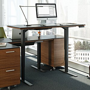 Height Adjustable Standing Desks You Ll Love Wayfair