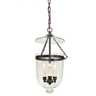 Danna 3-Light Urn Pendant by Alcott Hill